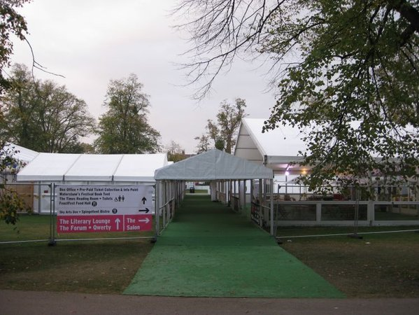 4m x 15m  Roder Compatible Marquee