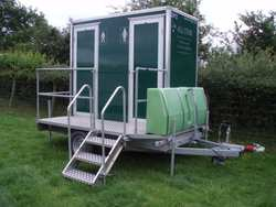 Self Contained 1+1 Toilet unit
