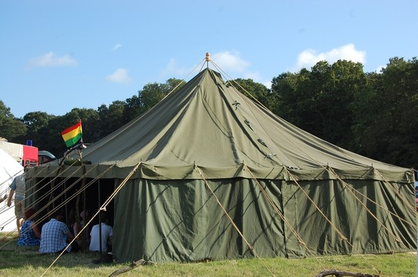 ex army marquee