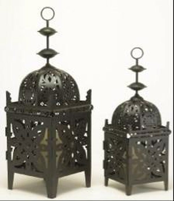 Asian Iron Lanterns