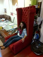 Oversized High Wing chair