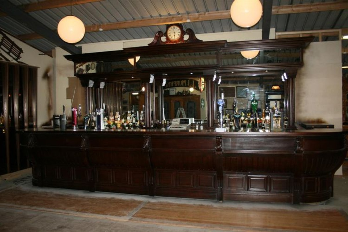 Secondhand vintage and reclaimed lounge bar large