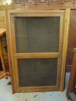 Vintage Oak and Brass Radiator Covers