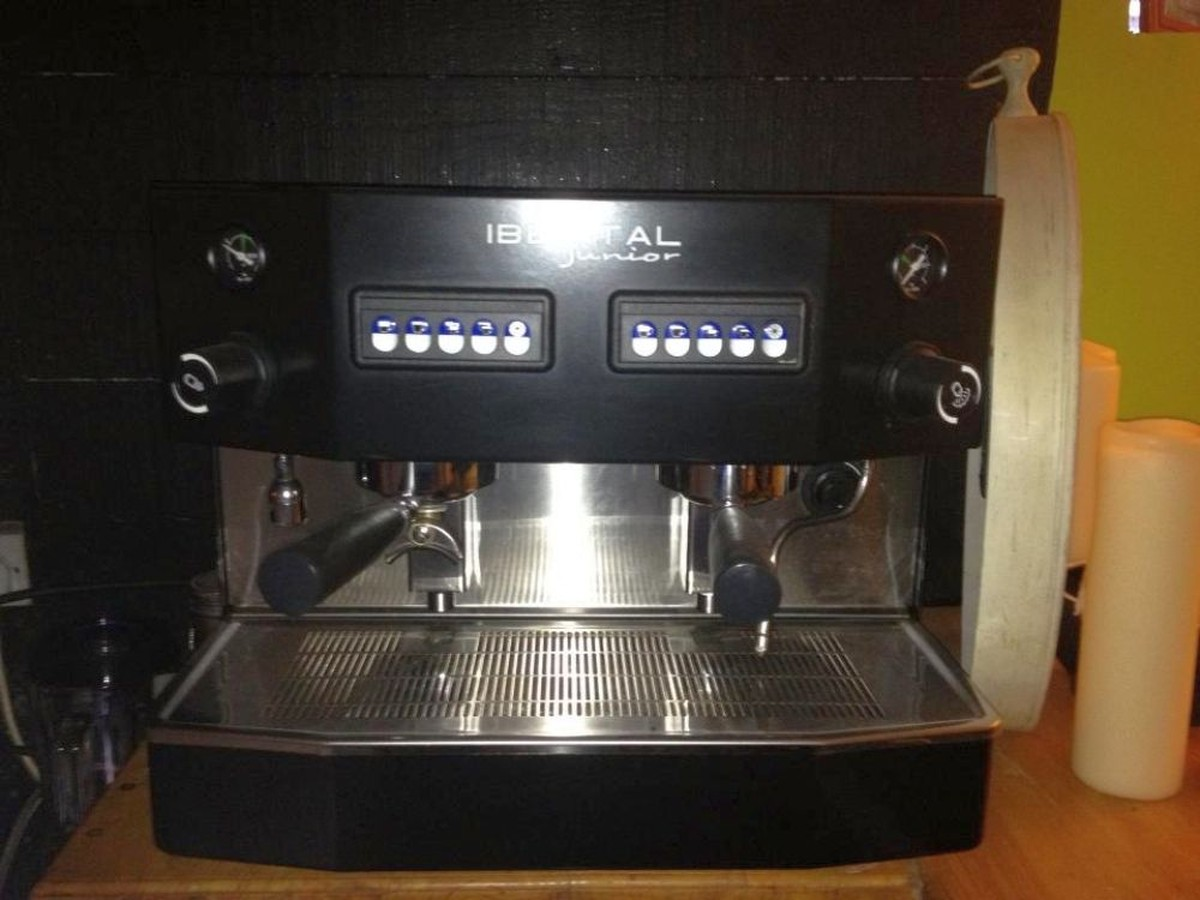 used espresso machine