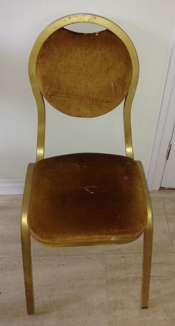 Buy Used Gold Bentwood / Banqueting Chairs