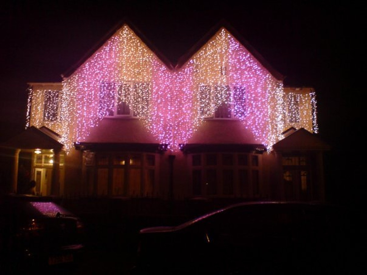 LED Wedding House Lights LED Curtain Lights