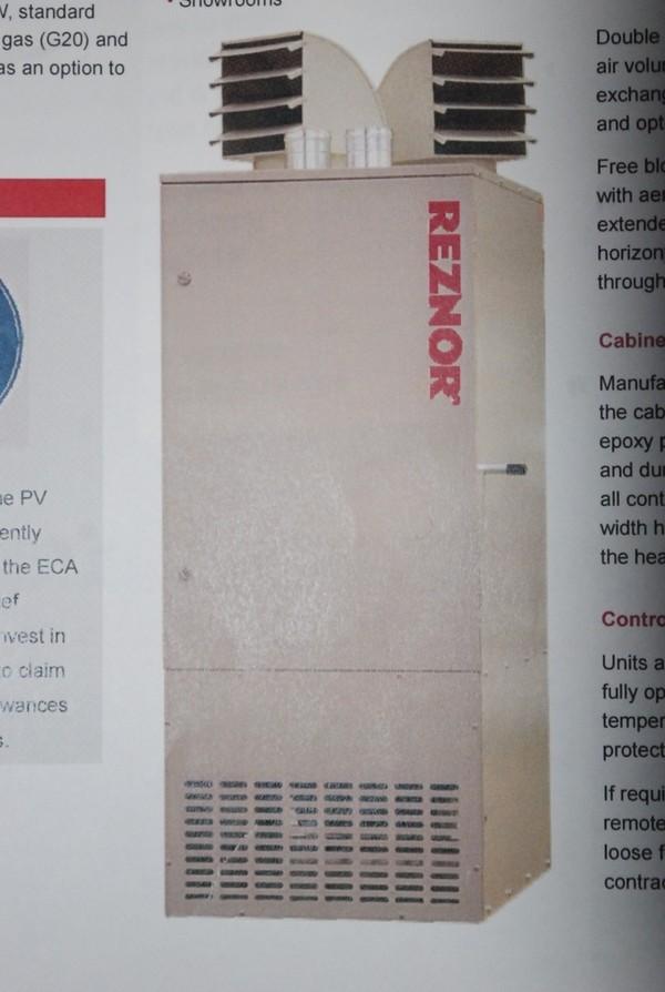 Reznor Pvd 100 Gas Heater
