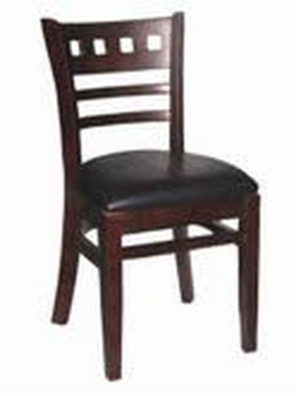 40x Walnut Everest Restaurant Chairs