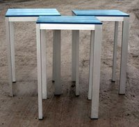 Tall Metal Poseur Tables