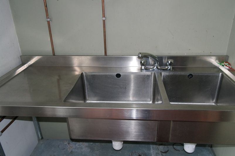 double sink plumbing with dishwasher quotes