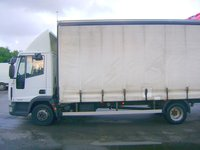 Iveco curtainside 7.5 tonne lorry