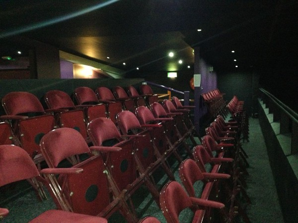 Buy 100 Metal Folding Theatre Cinema Style Interlocking Chairs