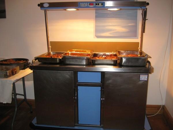 Colston hot cupboard