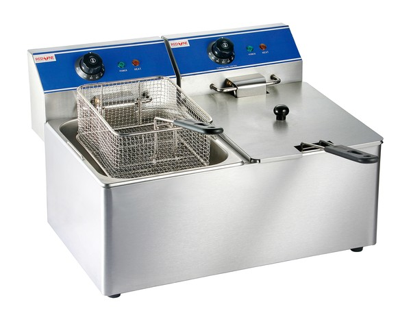 Red One 2 x6L Electric Double Fryer