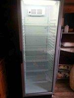 Tall drinks fridge