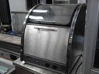 Counterline Potato Oven with glass warmer on top