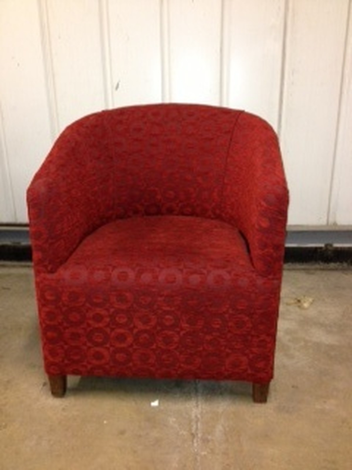 Secondhand Chairs And Tables Lounge Furniture 10x Red