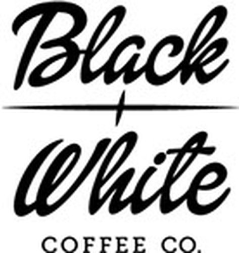 Black and White Espresso Machine