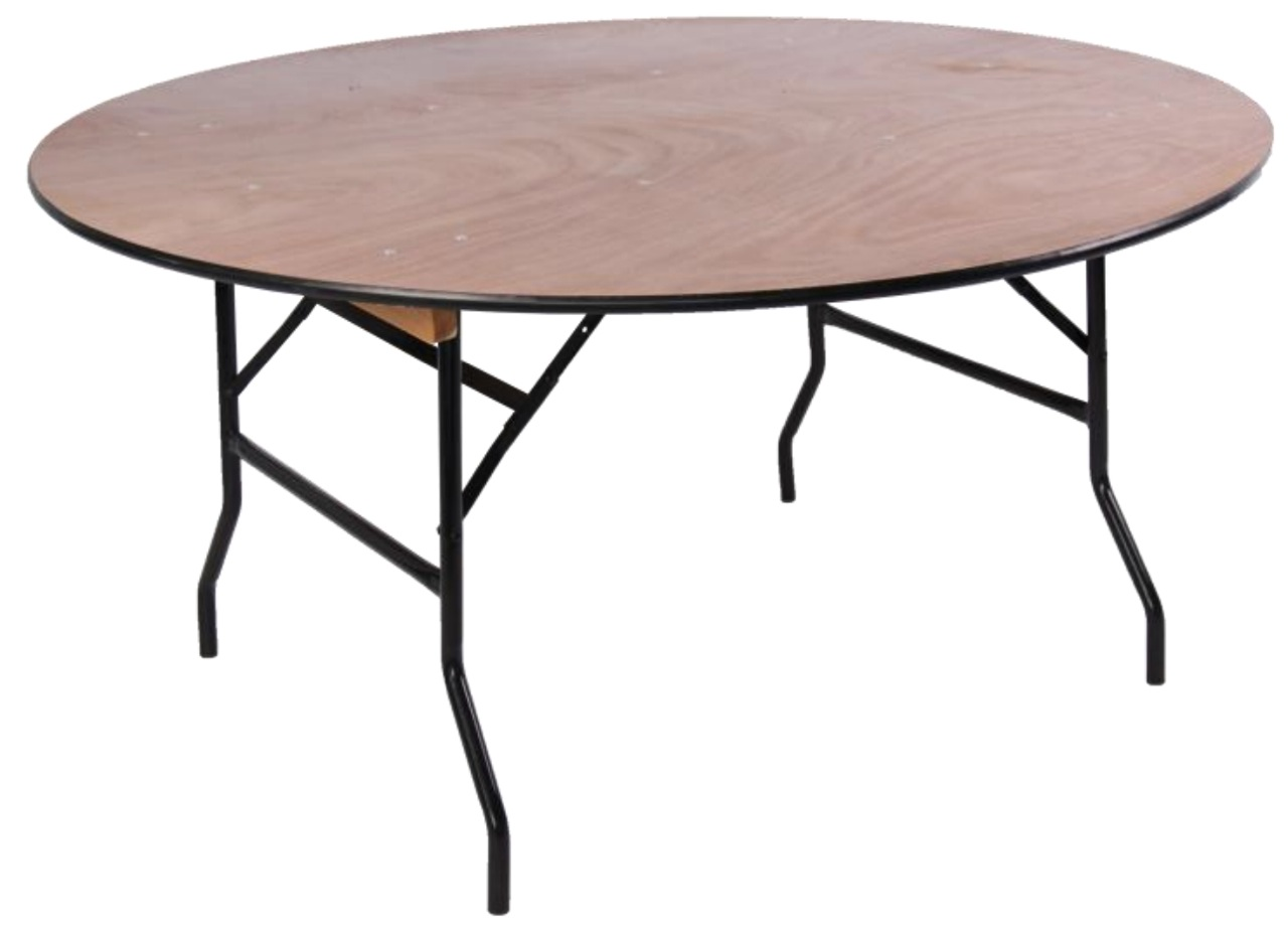 Wood Round Table.New 5ft 6ft Wooden Round Banqueting Tables Oxford Or London