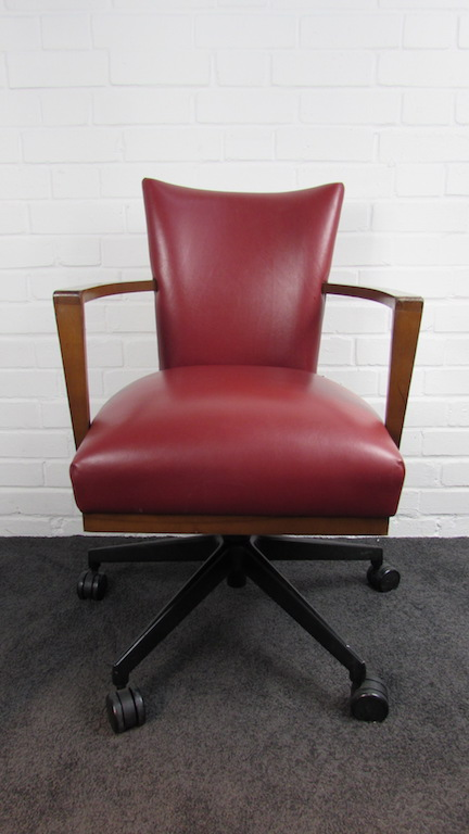 Incredible 29X Morgan Red Leather Swivel Chairs Code Ch625 Sussex Ibusinesslaw Wood Chair Design Ideas Ibusinesslaworg