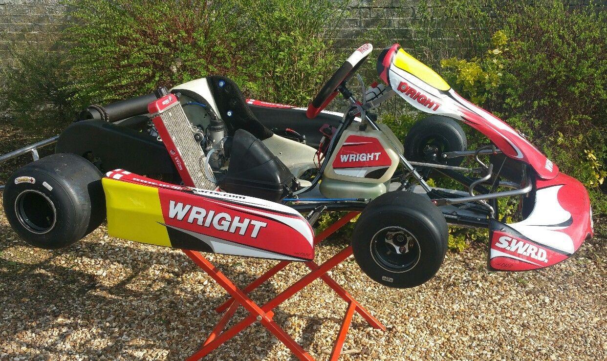 Wright Kart With Junior / Minimax Rotax - Hitchin, Hertfordshire