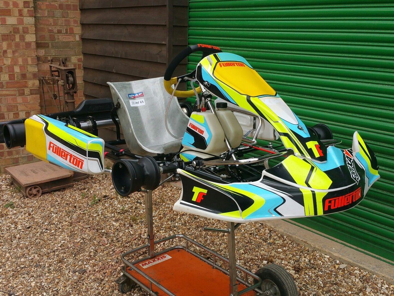 Go-Karting IAME Rotax Birel Compkart Fullerton Front Wheel Insert Kart