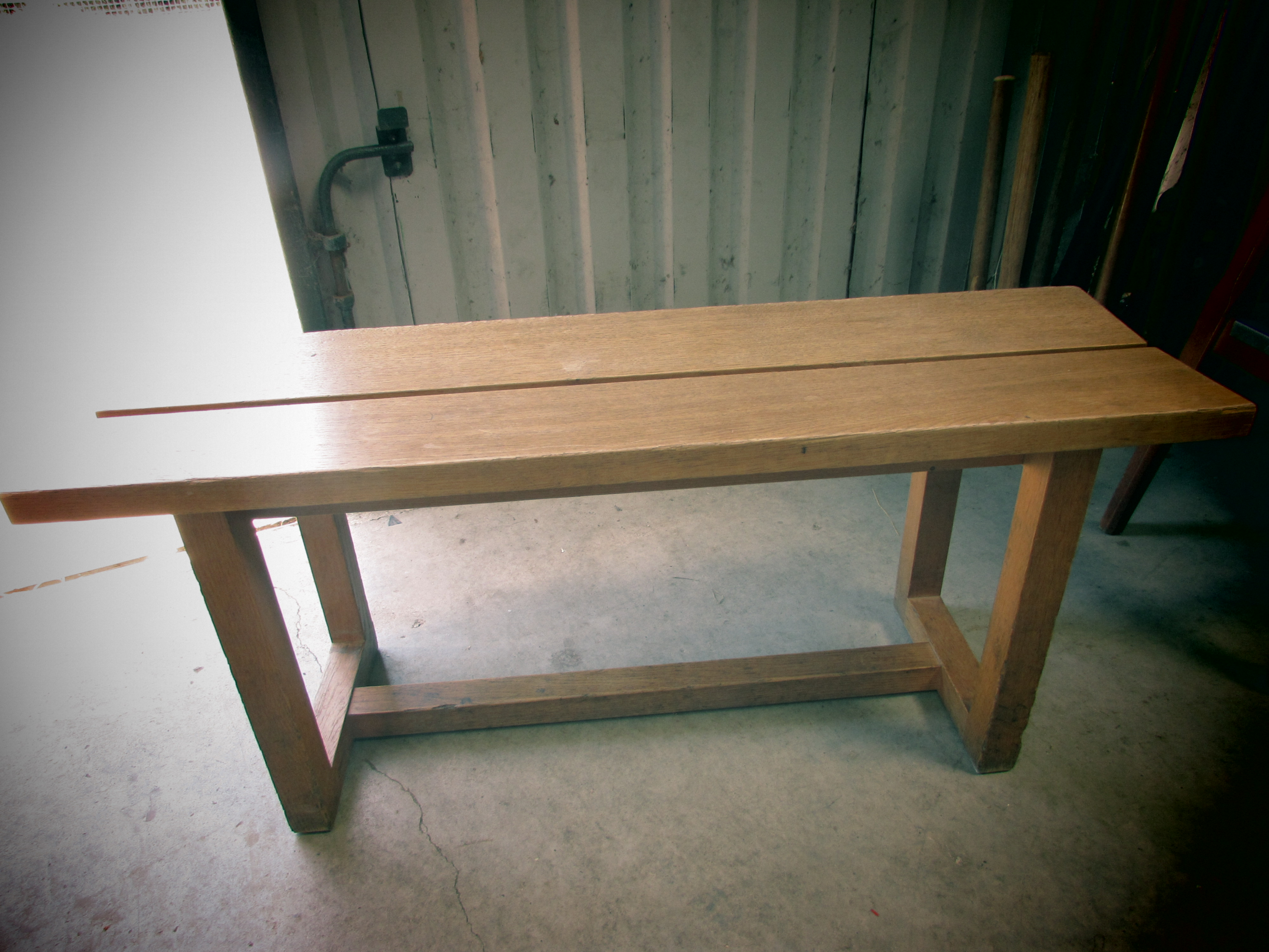 4x Light Solid Oak Benches Somerset