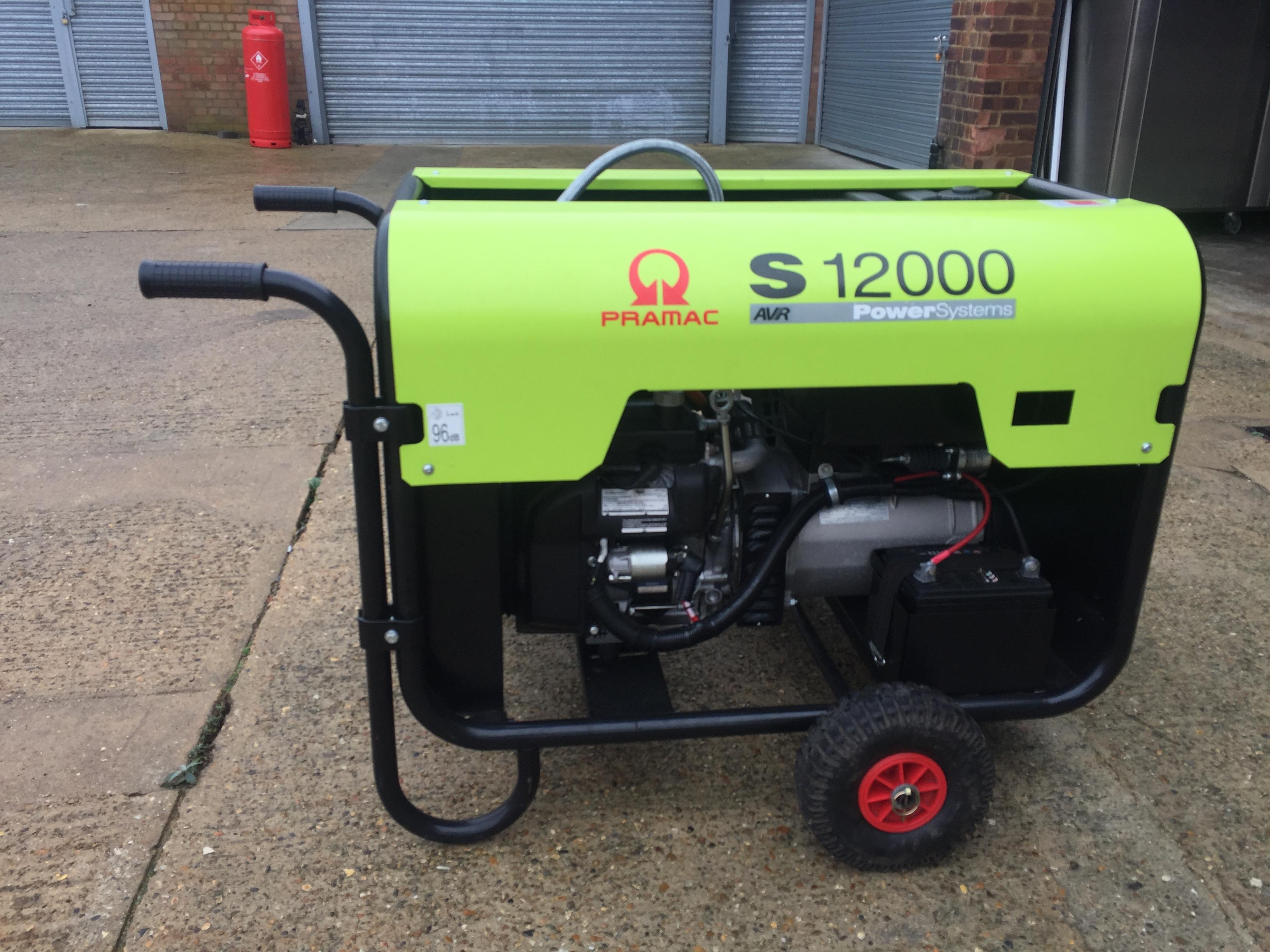 Pramac S12000 Duel Fuel Generator - Romford