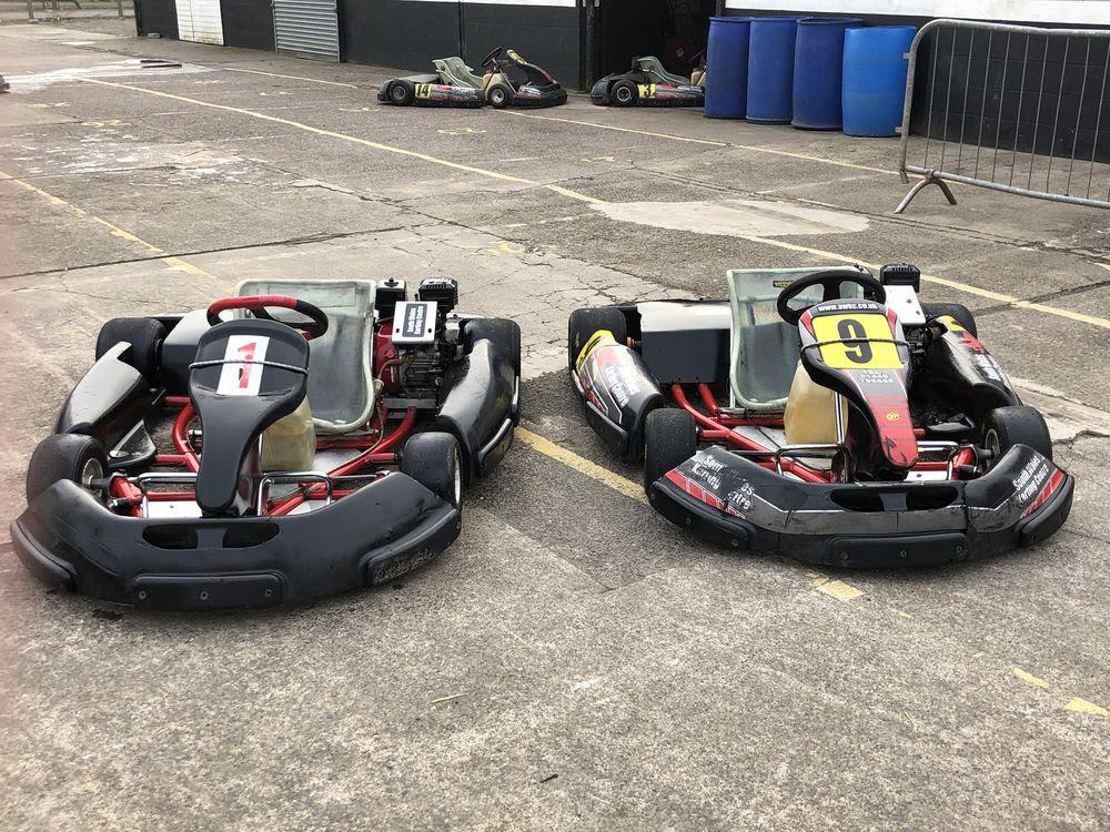Fleet of Birel Corporate Karts - Vale of Glamorgan