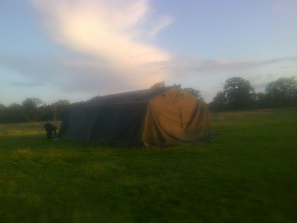 Army Frame Tent 21ft x 24ft - Exeter, Devon