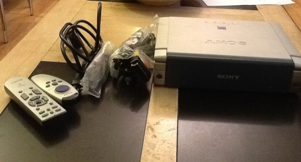 Used Sony LCD Projector