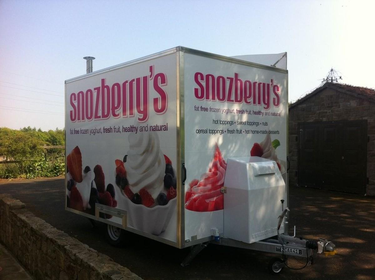 frozen yogurt van for sale uk
