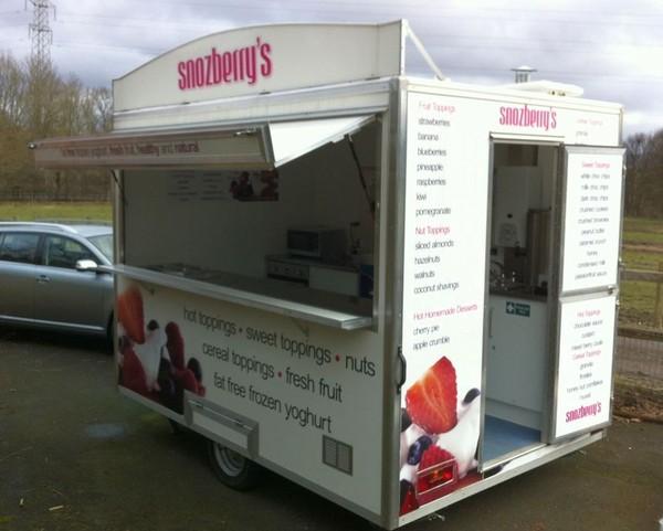 Buy 10 ft x 7 ft catering trailer