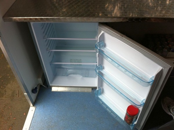 Used 10 foot x 7 foot catering trailer