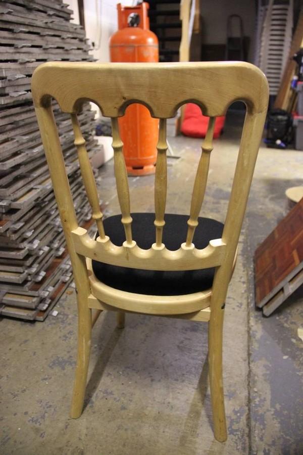 Natural Wood Banqueting chair