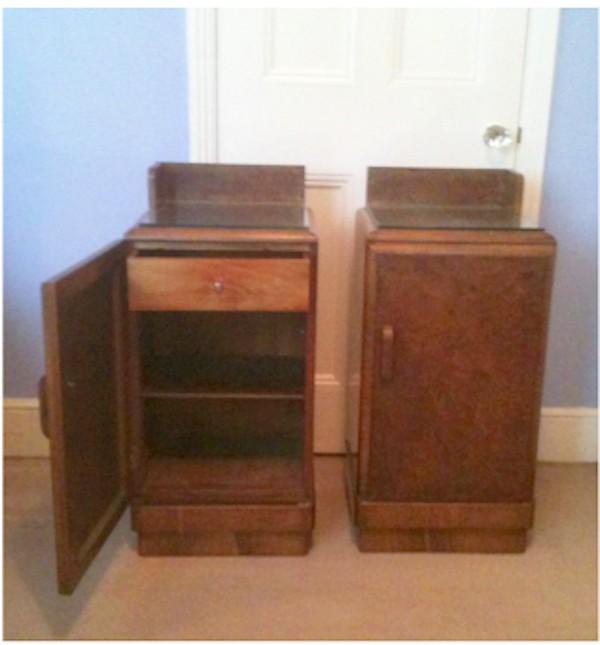 Two bedside lockers