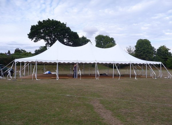 Anchor tension tent Marquee