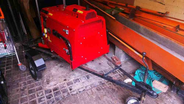 Second hand road tow generator