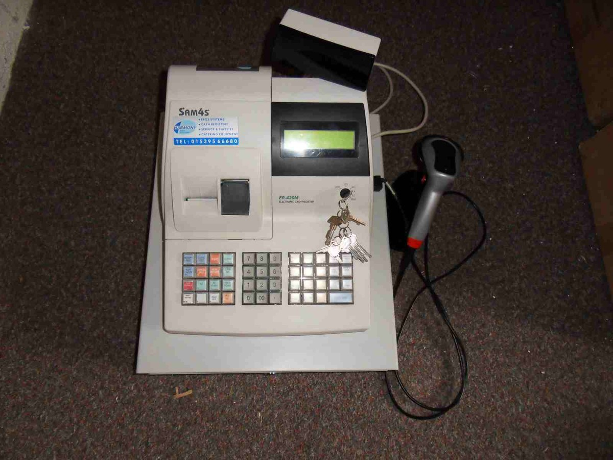 Electronic Cash Register and Barcode Scanner - Kendal, Cumbria