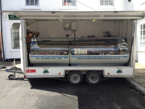 trailer shop with counters