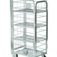 5 x milk trolleys milk cages