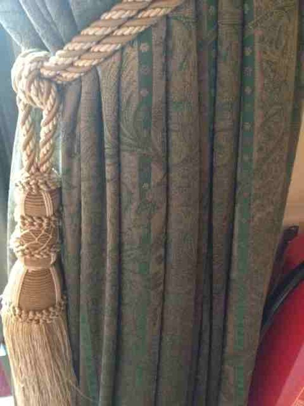 Curtains with tie backs