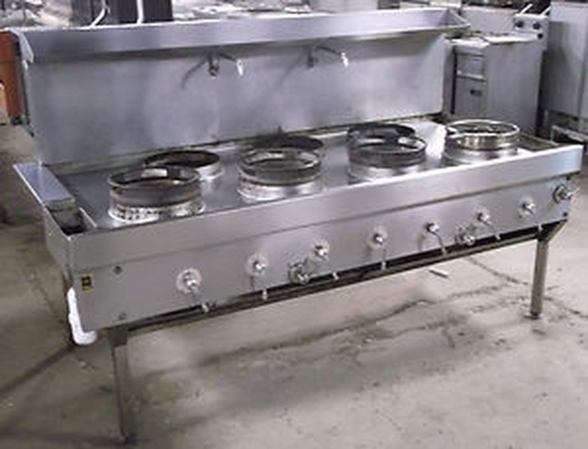Secondhand Catering Equipment Wok Cooker 4 3 Heavy