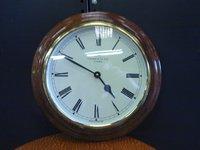 Vintage round hotel clock