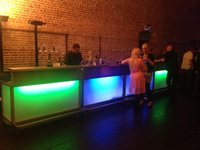 Brand New Mobile Bar Units with LEDs