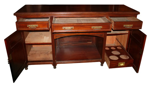 Mahogany Sideboard with Drawer