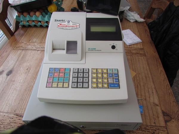 Sam 4s ER-420m electronic till