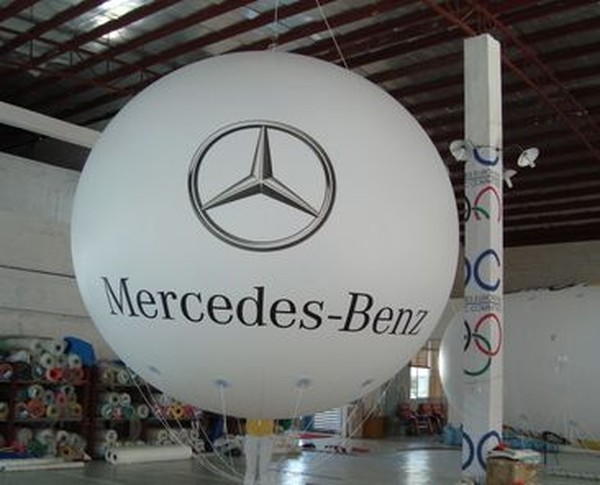 Giant Inflatable Sphere with logo