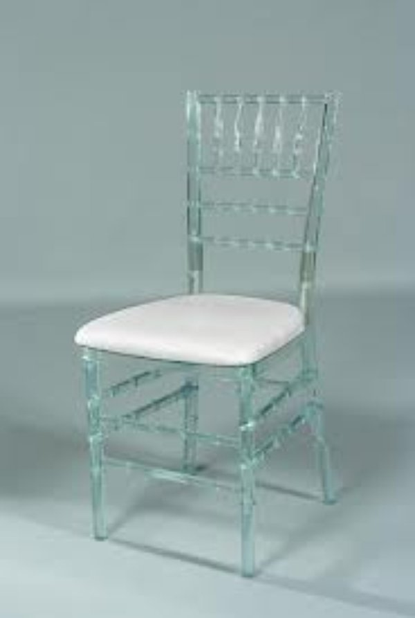 Crystal banqueting chair