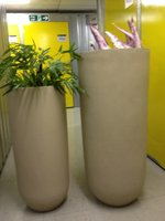 2 Large Flower Pots